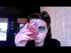 HALLOWEEN Dia de los Muertos Makeup Tutorial
