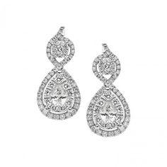 ORB 724 Oro 750 ‰ . Diamanti P.Ct. 85 Col. G Purezza SI #CometeGioielli    Gioielli Sposa Collezione Lumiere