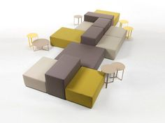 LOUNGE sectional sofa by Marelli