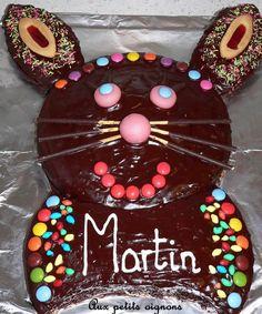 Un super gâteau pour l'anniversaire de Martin !