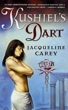 Kushiel's Dart by Jacqueline Carey.  Just finishing this first book in the Kushiel's Legacy series.  Absolutely amazing!