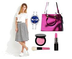 """."" by yuryhincapie on Polyvore featuring moda, Smashbox, Love 21, Bobbi Brown Cosmetics y Fendi"