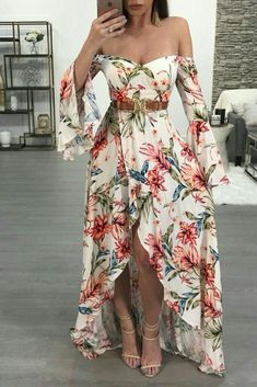 Best skirt long floral fashion 32 Ideas in 2020 Dress Outfits, Fashion Dresses, Dress Up, Cute Outfits, Fashion Clothes, Cute Dresses, Beautiful Dresses, Casual Dresses, Maxi Dresses