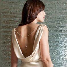 Whisper Back Necklace