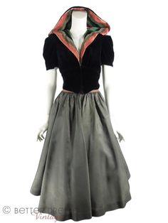 30s jacket & skirt set