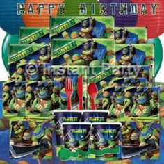Teenage Mutant Ninja Turtle Prestige Party Pack