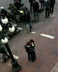 BTS - Fifty Shades of Grey! Credits to the owner of all individual pics ;) Thanks!!!