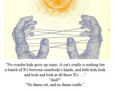 "From Vonnegut's ""Cat's Cradle"""