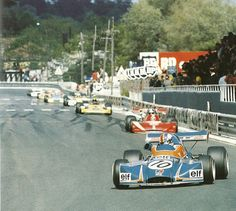 François Cevert - Elf 2 (Alpine A367) Cosworth BDA - Elf Coombs Racing - XXXIII Grand Prix Automobile de Pau 1973