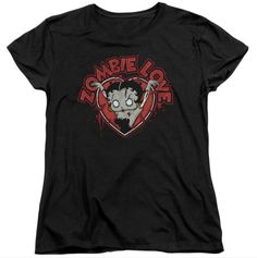 HEART YOU FOREVER - Betty Boop Tee for Women