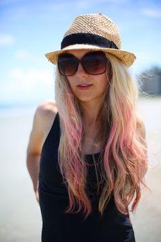 """How-to: DIY summer """"mermaid"""" hair!"""