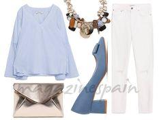 a-divina: ¿Cómo llevar unos pitillo en verano? #moda #fashion