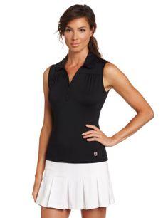 Fila Tennis Women's Essenza Ruffled Skort, Black, « Impulse Clothes
