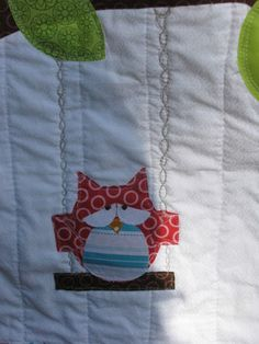 confused owl quilt