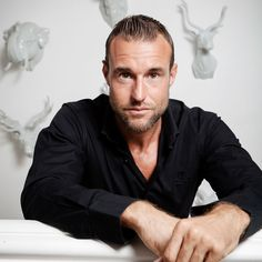 Philipp Plein, German fashion designer and founder of the namesake brand, poses for the photographer at his villa 'La Jungle du Roi / The King's Jungle', Cannes, France, 04 August 2015
