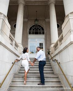 "I was behind my camera like ""werk guys werk!"" #atlweddingphotographer #engaged #engagementsession #love  #georgianterrace"