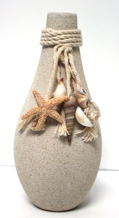 California Seashell Company Retail - Sand Bud Vase, $9.00 (http://www.caseashells.com/sand-bud-vase/)