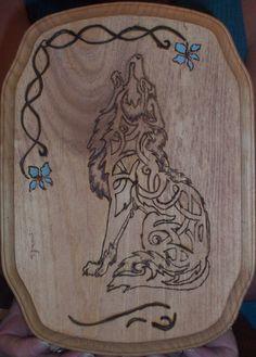 Custom Wood burned piece by Saffire Knots - unfinished  $20.00