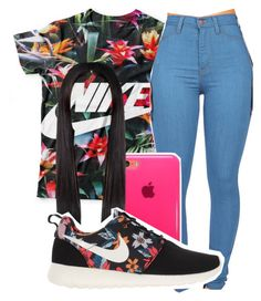 """""""Untitled #241"""" by neca-xoxo ❤ liked on Polyvore featuring CO and NIKE"""