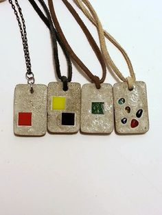 Concrete Necklace Buyer's Choice Concrete by DeerwoodCreekGifts, $30.00