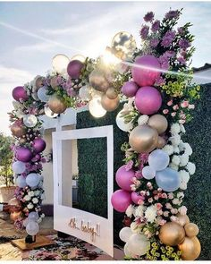 25 Most Interesting DIY Event Decor Ideas : Make Your Events More Attractive. - 25 Most Interesting DIY Event Decor Ideas : Make Your Events More Attractive. Party Planning, Wedding Planning, Bridal Shower Planning, Baby Shower Backdrop, Baby Shower Photo Booth, Baby Shower Balloons, Photo Booth Party, Wedding Photo Booths, Baby Shower Wall Decor