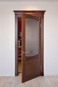 """Двери Альверо - модель """"Елена"""", натуральный массив бука."""