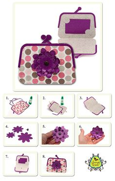 Samantha Walker's Imaginary World: Silhouette File Tutorial: Coin Purse Gift Card Holders