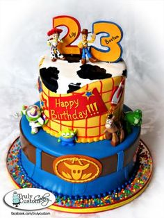 It's my 23rd Birthday! Thought this Toy Story cake was pretty awesome! Happy Monday! :)