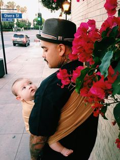 babywearing dads are the best kinds..