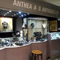 Anthea AG Antiques at Grays in Mayfair