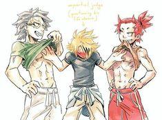 Boku No Hero Academia, My Hero Academia Memes, Hero Academia Characters, My Hero Academia Manga, The Villain, Kirishima Eijirou, Wattpad, Cute Gay, Anime Guys