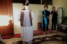 """Inside the Lives of Girls Dressed as Boys in Afghanistan - A cultural practice called """"bacha posh"""" encourages parents dress their daughters as sons for a better future. But often, it only makes life harder. Things To Do With Boys, Trans Man, Z New, Normal Guys, Genderqueer, Hair Transplant, Body Image, Pro Choice, People Around The World"""
