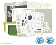 Wedding Digital Kit for PC from Creative Memories  #digitalscrapbooking    http://www.creativememories.com