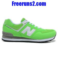 New Balance 574 Five Rings series blanc lighte vert Chaussures Hommes
