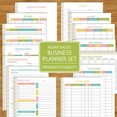 Hey, I found this really awesome Etsy listing at https://www.etsy.com/listing/238475711/small-business-planner-home-business