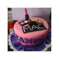Mac Fondant Cake #Mac #FondantCake