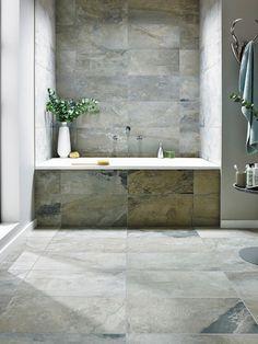 Bengal Autumn Slate Effect Italian Porcelain Wall and Floor Tile 30.5 x 60.5cm