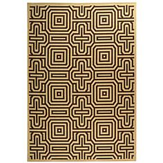 @Overstock - Courtyard All Weather Collection features Persian and European rug designs that will spruce up your home decorTransitional rug highlights a natural backgroundIndoor/outdoor rug made of 100-percent fine-spun polypropylenehttp://www.overstock.com/Home-Garden/Indoor-Outdoor-Matrix-Natural-Brown-Rug-4-x-57/4015560/product.html?CID=214117 $45.09