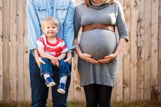 Denver Maternity Photographers | Colorado Pregnancy Portrait Photography | With Older Sibling/Toddler