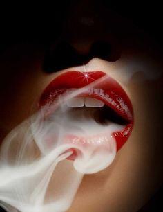 lips - smoking hot lips - photo by Sølve Sundsbø Women Smoking, Girl Smoking, Smoking Weed, Smoking Room, Rauch Fotografie, Lips Photo, Guy Bourdin, Smoke Art, Beautiful Lips