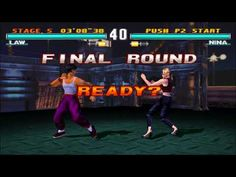 GAMEPLAY TEKKEN 3 EPSXE FULL  HD  LAW TUTTA STORIA IN 15 MINUTI #1 MUSIC ON