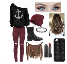 """Fall outfit"" by aaliyahdixon5 ❤ liked on Polyvore"