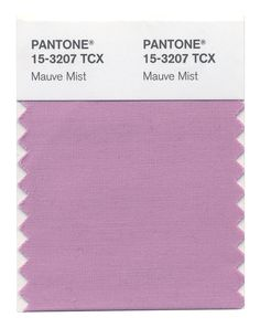 Mauve Mist is a romantic and elegant purple shade, reminds us of the deco era and stimulates a sense of femininity and empowerment.  #FashionColorReport #Fall2014
