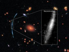 When it comes to the distant universe, even the keen vision of NASA's Hubble Space Telescope can only go so far. Teasing out finer details requires clever thinking and a little help from a cosmic alignment with a gravitational lens.