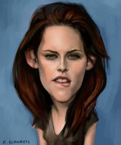 Rob's and KStew's caricatures: funny, creepy and... funny!!! - TwiFans-Twilight Saga books and Movie Fansite