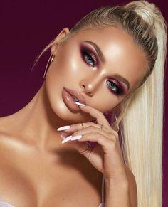 glam makeup – Hair and beauty tips, tricks and tutorials Makeup Trends, Makeup Inspo, Makeup Inspiration, Makeup Ideas, Makeup Style, Beauty Make-up, Beauty Hacks, Hair Beauty, Cool Makeup Looks