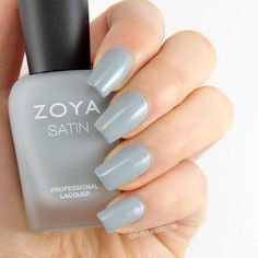 Liquid Jelly: [Review+Swatch] Zoya Naturel Satins Collection for 2015 - Tove