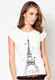 Mango Eiffel Tower T-Shirt