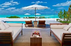 Two Bedroom Beach House at Parrot Cay, Turks and Caicos Villa
