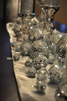 gorgeous disco balls